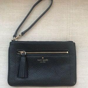 ♠️ Leather Wristlet